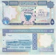 Bahrain - 5 Dinars 1973 ( 1998 ) P. 20b UNC Lemberg-Zp - Bahrain