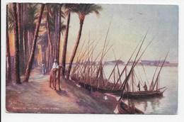 Banks Of The Nile, Near Cairo - Tuck Oilette 7201 - Cairo