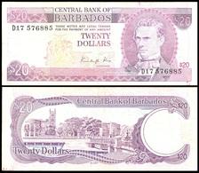 Barbados - 20 Dollars 1988 - F Lemberg-Zp - Barbados