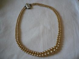 Doppel-Reihige Perlenkette (772) - Halsketten