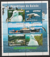 Guinée - 1998 - N°Yv. 1207 à 1212 - Albatros / Greenpeace - Neuf Luxe ** / MNH / Postfrisch - Albatros