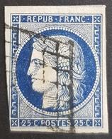 1849-1850, Céres, 25c, Déesse De L'Agriculture, Republique Française, France - 1849-1850 Cérès