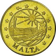 Malte, Fantasy Euro Patterns, 10 Euro Cent, 2004, SPL, Laiton - Malta
