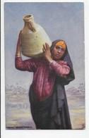 Woman Water Carrier - Tuck Oilette 7200 - Egypt