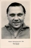 1954 TARJETA POSTAL SIN CIRCULAR , FÚTBOL , SOCCER , FOOTBALL , MAX MORLOCK - Fútbol