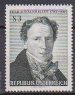 Österreich 1965 Nr.1193 ** Postfr. 100.Todestag Ferdinand Georg Waldmüller ( 8750) Günstige Versandkosten - 1961-70 Ungebraucht