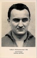 1954 TARJETA POSTAL SIN CIRCULAR , FÚTBOL , SOCCER , FOOTBALL , JOSEF POSIPAL - Fútbol