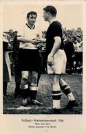1954 TARJETA POSTAL SIN CIRCULAR , FÚTBOL , SOCCER , FOOTBALL , PUSKAS - FRITZ WALTER - Fútbol