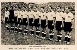1954 TARJETA POSTAL SIN CIRCULAR , FÚTBOL , SOCCER , FOOTBALL , DER WELTMEISTER - Fútbol
