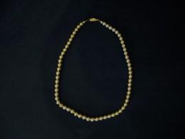 Ein-Reihige Perlenkette (775) - Halsketten