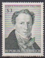 Österreich 1965 Nr.1193 ** Postfr. 100.Todestag Ferdinand Georg Waldmüller ( 8753) Günstige Versandkosten - 1961-70 Ungebraucht