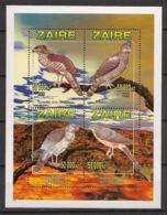 Zaire - 1996 - N°Yv. 1451 à 1454 - Rapaces - Neuf Luxe ** / MNH / Postfrisch - 1990-96: Ungebraucht