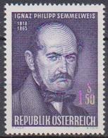 Österreich 1965 Nr.1192 ** Postfr. 100.Todestag Ignaz Philipp Semmelweis ( 8755) Günstige Versandkosten - 1961-70 Ungebraucht