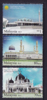 MALAYSIA, 2015, MNH, MOSQUES, 3v - Mosques & Synagogues