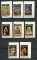 Sharjah - 2015b/ N° 456/463 B Non Dentelé ** (imperforate) Ancien Egypt Art (art Egyptien Egypte) ** MNH - Schardscha