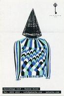PEHACHE MODA DISEÑO DECO ARTE TENDENCIA VANGUARDIA POSTAL PUBLICIDAD ARGENTINA CIRCA 2000's NON CIRCULE -LILHU - Pintura & Cuadros