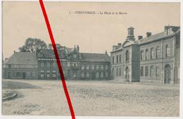 Steenwerck - Mairie - 1914 - Dunkerque