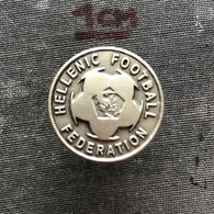 Badge Pin ZN008591 - Football (Soccer Calcio) Greece Federation Association Union - Football