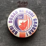 Badge Pin ZN008592 - Football (Soccer Calcio) Serbia Red Star Belgrade (Crvena Zvezda Beograd) - Football