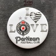 Badge Pin ZN008593 - Football (Soccer Calcio) Serbia Partizan Belgrade (Partizan Beograd) - Football