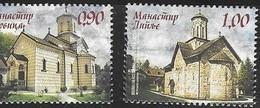 BOSNIA SERB,  2018, MNH,CHRISTIANITY, ORTHODOX CHURCH, MONASTERIES OF THE REPUBLIC OF SRPSKA, 2v - Abbeys & Monasteries