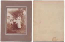 Antica Fotografia Fine '800 (C) - Foto