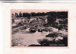 1955 NECOCHEA. CASCADAS FALLS- LAMINA REPRODUCTION SIZE 17x12CM- BLEUP - Lugares