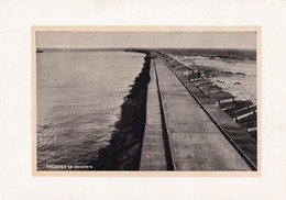 1955 NECOCHEA. LA ESCOLLERA- LAMINA REPRODUCTION SIZE 17x12CM- BLEUP - Lugares