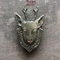 Badge Pin ZN008602 - Hunting Yugoslavia Croatia Baranja Lovacko Drustvo Srndac Knezevi Vinogradi - Badges
