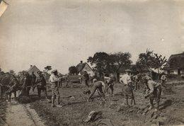 SOLDATS ANGLAIS  NORD  TRANCHEES   +-18*13CM - Guerra, Militares