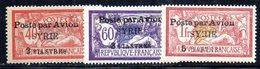 APR1906 - SYRIA SIRIA 1924, Posta Aerea 18+19+20  Linguellati *  (2380A) - Syria (1919-1945)