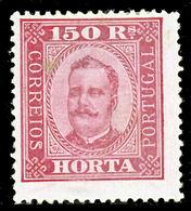 !■■■■■ds■■ Horta 1892 AF#10* King Carlos Neto 150 Réis 13,5 (x1990) - Horta