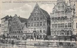 GAND - Maisons Des Bateliers De L'étape Et Des Mesureurs De Grains - Gent