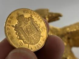 PIÈCE DE 50 F NAPOLÉON III EN OR 1855 A - N. 50 Francs