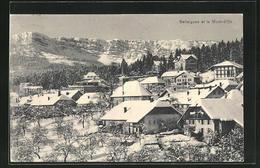 AK Ballaigues, Panorama Mit Mont-d'Or Im Winter - VD Vaud