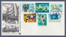 UNO Wien-UN Vienna FDC 1979 - MiNr. 1-6 - Freimarken Des Jahres 1979 (2) - FDC
