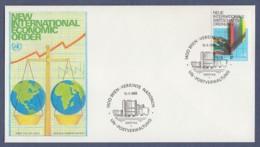 UNO Wien-UN Vienna FDC 1980 - MiNr. 7 - Neue Internationale Wirtschaftsordnung (2) - FDC