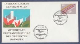 UNO Wien-UN Vienna FDC 1981 - MiNr. 16 - Unveräusserliche Rechte Des Palästinensischen Volkes - FDC