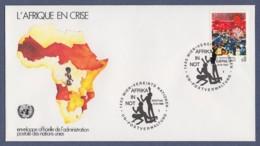 UNO Wien-UN Vienna FDC 1986 - MiNr. 55 - Afrika In Not - FDC