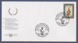UNO Wien-UN Vienna FDC 1988 - MiNr. 87 - Jahrestag Der Allgemeinen Erklärung Der Menschenrechte - FDC