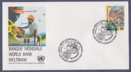 UNO Wien-UN Vienna FDC 1989 - MiNr. 89 - Weltbank - FDC