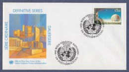 UNO Wien-UN Vienna FDC 1990 - MiNr. 99 - UNO-City Wien - Gemälde Von Kurt Regschek - FDC
