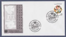 UNO Wien-UN Vienna FDC 1991 - MiNr. 116 - Freimarke-Gesichter - FDC