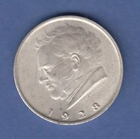 Österreich 1928 Silber-Gedenkmünze 2 Schilling 100. Todestag Von Franz Schubert - Oesterreich