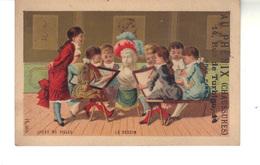 Chromo  Au Phénix  - Grand Magasin De Chaussures. 14 Rue De Turbigo Paris - Lycée De Filles - Le Dessin - Andere