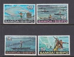 Samoa SG 465-468 1976 Fishing,mint Never Hinged - Samoa