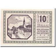 Billet, Autriche, Thalgau, 10 Heller, Paysage, 1920, SPL, Mehl:1065 - Austria