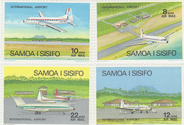 Samoa SG 409-412 1973 Planes,mint Never Hinged - Samoa