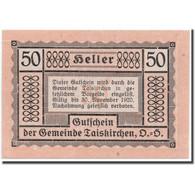 Billet, Autriche, Taiskirchen, 50 Heller, Graphique, 1920, 1920-05-15, SPL - Austria