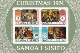 Samoa SG 439 1974 Christmas Souvenir Sheet MNH - Samoa
